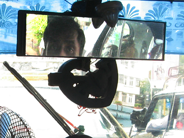 vijay kumar in rear view